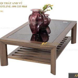 bàn trà gỗ óc chó avbt003