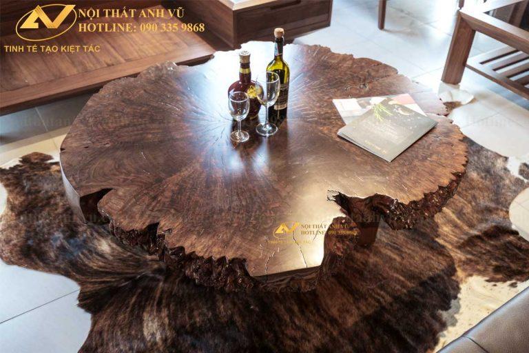 Bàn trà gỗ nguyên khối đẹp AV-BT 008 Ban-tra-go-oc-cho-new-008-2-768x512
