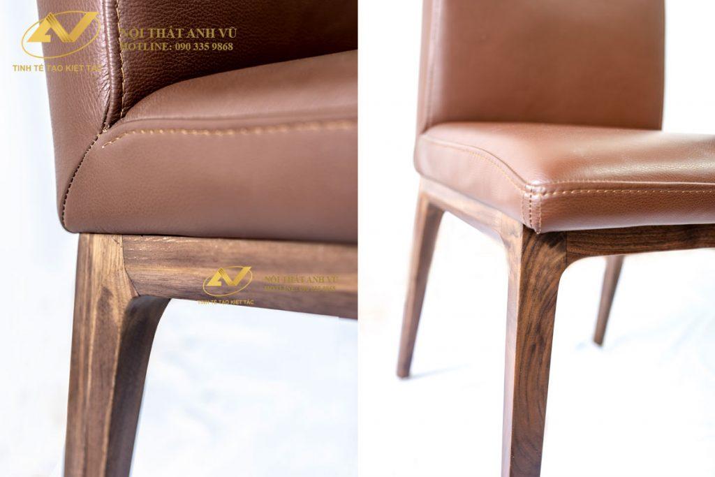 Mẫu ghế ăn bọc da đẹp gỗ tự nhiên AV-GA 001 Ghe-an-go-oc-cho-001-4-1024x683