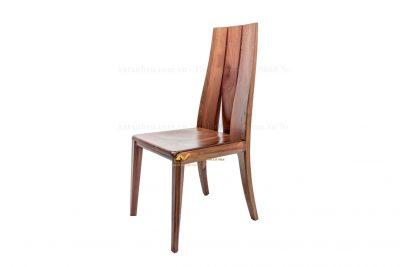 Ghế ăn hiện đại bằng gỗ óc chó AV-GA 015 - Nội thất Anh Vũ