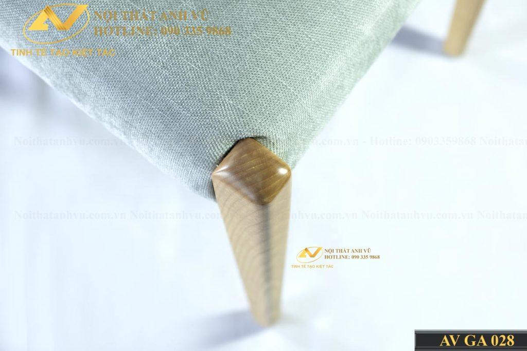 Mẫu ghế bọc nỉ gỗ tự nhiên nhập khẩu AV-GA 028 Ghe-an-tan-bi-lot-ni-trang-4-1024x683