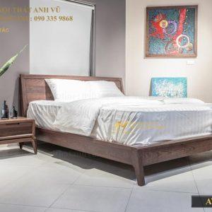 giường ngủ gỗ óc chó avgn 003-1
