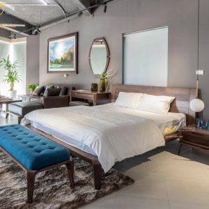 giường ngủ gỗ óc chó avgn001-11
