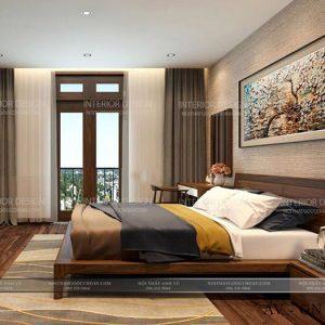 giường ngủ gỗ óc chó avgn008-1