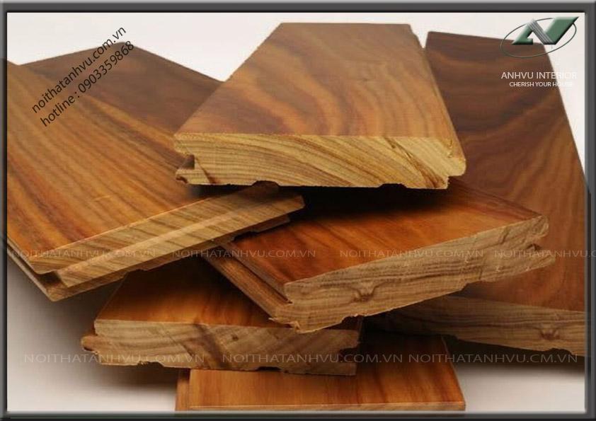 Sàn gỗ cao cấp gỗ óc chó AV-SG 001 - Nội thất Anh Vũ