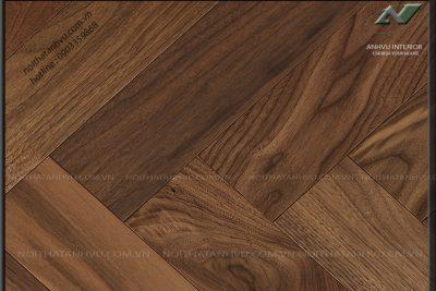 Sàn gỗ xương cá gỗ óc chó AV-SG 003 - Nội thất Anh Vũ