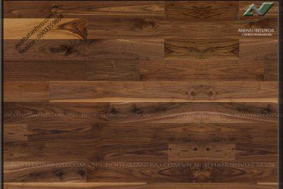 Sàn gỗ đẹp gỗ óc chó AV-SG 004 - Nội thất Anh Vũ