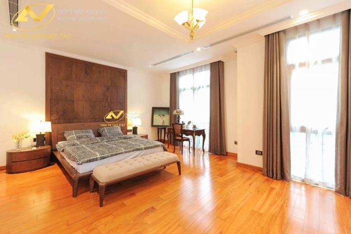thiết kế nội thất biệt thự tại Long Biên Hà Nội phòng ngủ Mr Minh 1