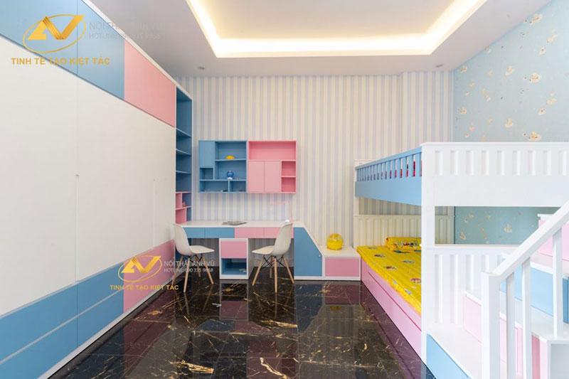 thiết kế nội thất phòng ngủ trẻ em Từ Sơn Bắc Ninh
