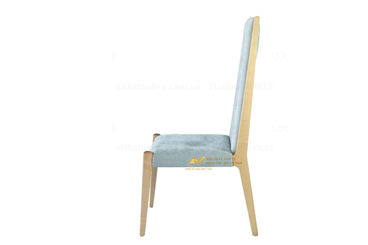 Ghế bọc nỉ gỗ tần bì AV-GA 028 - Nội thất Anh Vũ