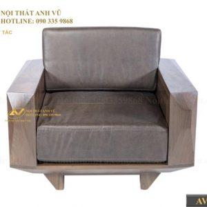 ghế sofa SFOC 016 được làm từ gỗ óc chó nhập khẩu