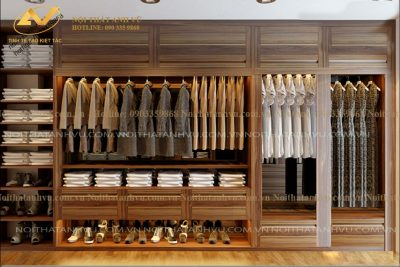 Tủ quần áo hiện đại AV-TA 007 - Nội thất Anh Vũ