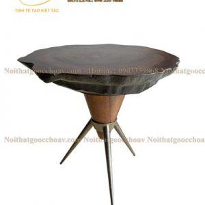 bàn trà gỗ óc chó avbt 004-1