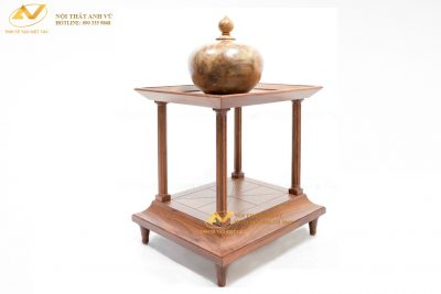 Đôn gỗ để tượng cao cấp 003 - Nội thất Anh Vũ
