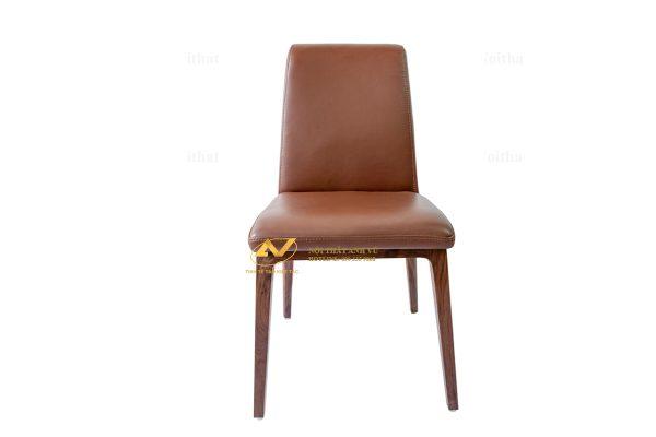 Ghế ăn gỗ óc chó bọc da cao cấp - Nội thất Anh Vũ
