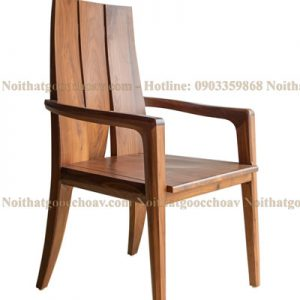 ghế ăn gỗ óc chó avga002-10