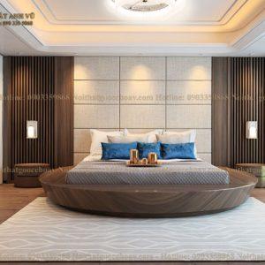 giường ngủ gỗ óc chó avgn004-1