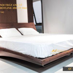 giường ngủ gỗ óc chó avgn 006-2