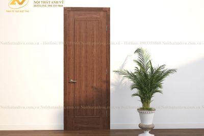 mẫu cửa gỗ tự nhiên avcg018-2