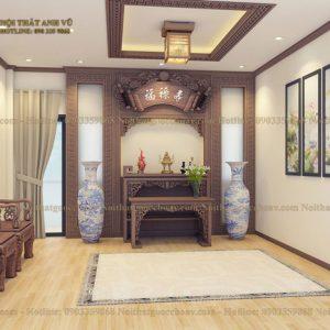 mẫu phòng thờ đẹp avpt011-1