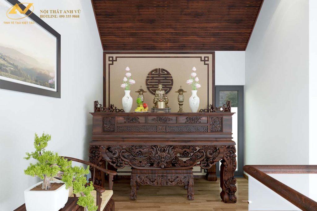 Tư vấn cách đặt phòng thờ theo phong thủy đem đến cát tường, an khang Phong-tho-go-oc-cho-new-005-1024x683