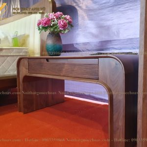 tab đầu giường gỗ óc chó avtdg004-1