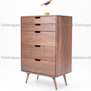 tủ trang trí gỗ óc chó avtt002-5