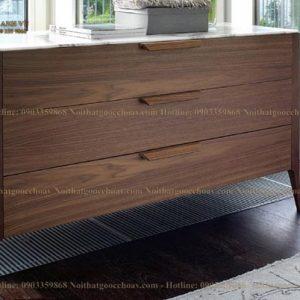 tủ trang trí gỗ óc chó avtt006-1