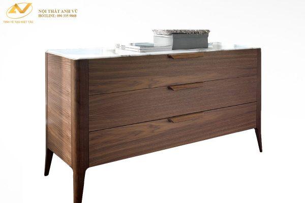 Tủ gỗ 3 ngăn cao cấp AV-TT 006 - Nội thất Anh Vũ