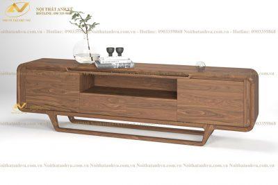 Kệ tivi đẹp hiện đại gỗ Óc chó 006 - Nội thất gỗ Óc chó