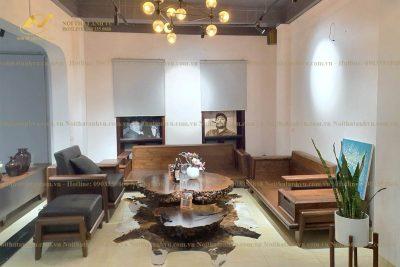 Mẫu ghế sofa gỗ hiện đại AV-SF 025 - Nội thất Anh Vũ
