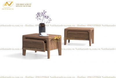 Táp đầu giường cao cấp 003 - Nội thất gỗ Óc chó