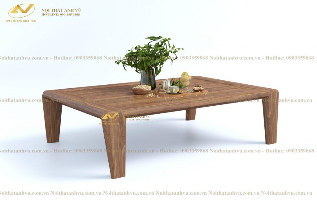 Bàn trà mặt đá gỗ óc chó sang trọng AV-BT 004 Ban-tra-2020-3-1024x683