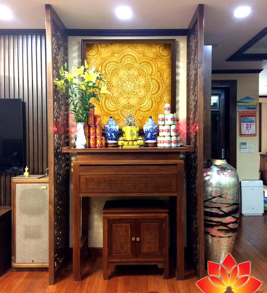 Tư vấn cách đặt phòng thờ theo phong thủy đem đến cát tường, an khang Phong-thuy-phong-tho-3