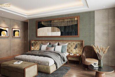 Bộ phòng ngủ gỗ cao cấp LUX: Source Of Happiness - Nội thất gỗ óc chó Anh Vũ