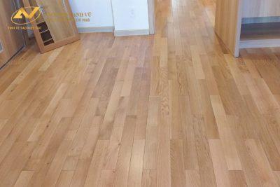 Ván sàn gỗ sồi mỹ tự nhiên cao cấp - Nội thất gỗ óc chó Anh Vũ