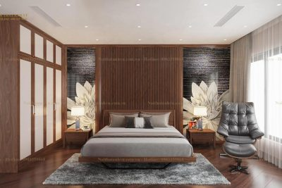 Mẫu phòng ngủ gỗ tự nhiên cao cấp Everlasting Love
