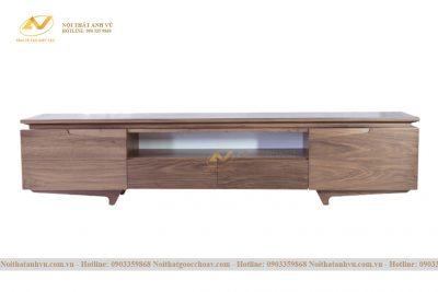 Kệ tivi đơn giản gỗ Óc chó cao cấp 002 - Nội thất gỗ Óc chó